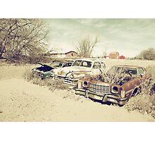 Rusting Classics Photographic Print