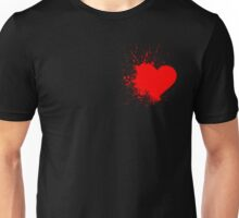 Red Heart Unisex T-Shirt