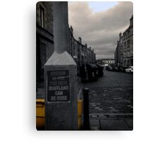 Ours Canvas Print