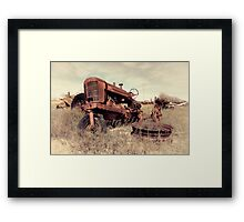 Derelict Marshall Framed Print