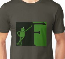 F is for Frog Colour. Unisex T-Shirt