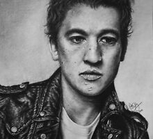 Miles Teller by robdolbs