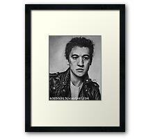 Miles Teller Framed Print