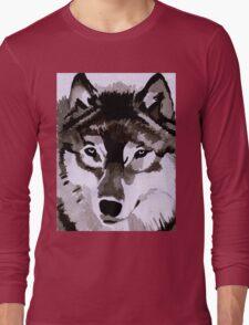 Wolf Ink. Long Sleeve T-Shirt