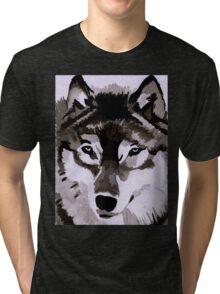 Wolf Ink. Tri-blend T-Shirt