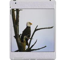 eagle striking a pose (square) iPad Case/Skin