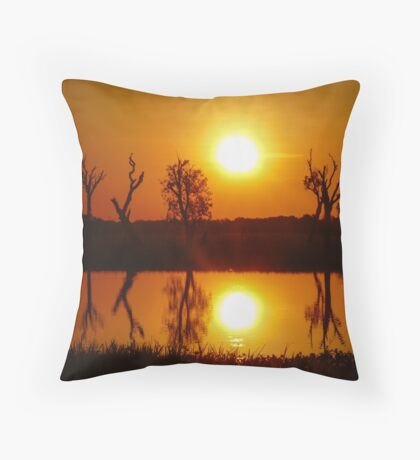 Outback Reflections, Kakadu National Park Throw Pillow