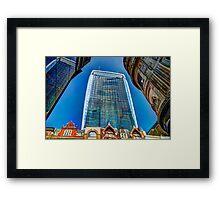 The Walkie Talkie - London Framed Print