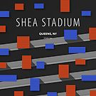 Minimalist Shea Stadium - Queens, NY by pootpoot