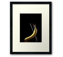 I Hate Fruit - Banana Framed Print