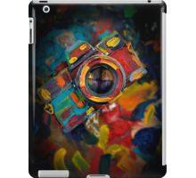 colorful photograph camera iPad Case/Skin