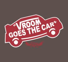Vroom Goes the Car Kids Clothes