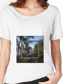 awesome ruby beach, wa (2x square) Women's Relaxed Fit T-Shirt