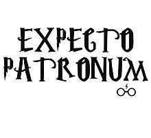 Expecto Patronum Charm - Harry Potter Photographic Print