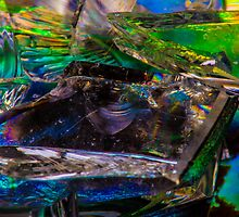 Colorful Broken Glass by Symbiosis - Justin Brosey