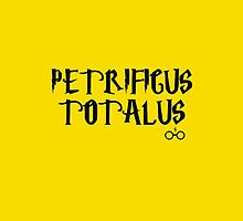 Petrificus Totalus - Harry Potter by galatria