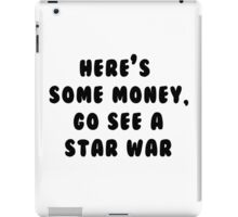 Go See A Star War iPad Case/Skin