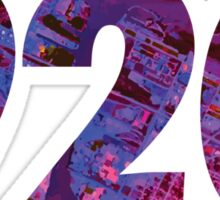 920 (Abstract Purple) Sticker