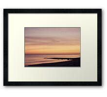 SUNRISE ON THE BAY Framed Print