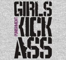 Girls Kick Ass … Black by OliveB