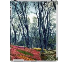 flowers and trees iPad Case/Skin