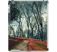 flowers an trees iPad Case/Skin