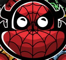 Spider-man's Suit Collection - The Glorious Monster Sticker