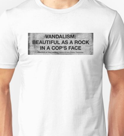 Vandalism Unisex T-Shirt