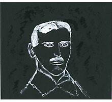 Portrait of Nikola Tesla Photographic Print