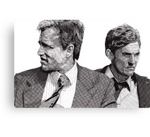 True Detective Canvas Print