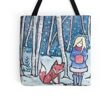 The Snow Child Tote Bag