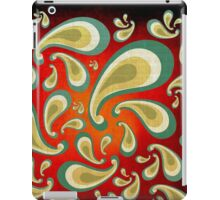 abstract in fabric background iPad Case/Skin