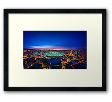 Sunrise in the East Framed Print