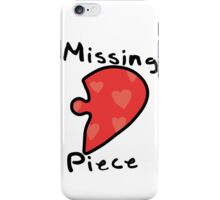 Love Puzzle - Missing Piece iPhone Case/Skin