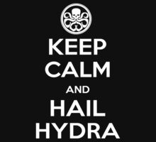 KEEP CALM AND HAIL HYDRA  by D Zine