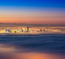 Vancouver in the clouds by Nordic-Photo
