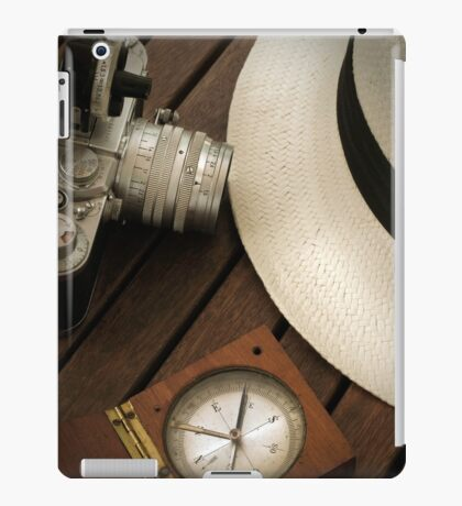 Leica camera and panama hat iPad Case/Skin