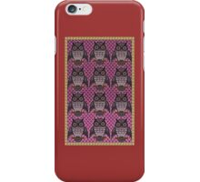 Owls for Owls sake iPhone Case/Skin