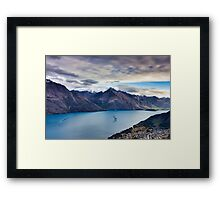 Queenstown, New Zealand Framed Print