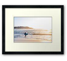 Bondi Sunrise Framed Print