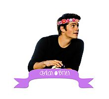 dylan o'brien flower crown banner. by jilleeean
