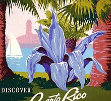 Discover Puerto Rico by Vintagee