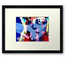 Uptown Girl Framed Print