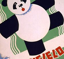 Panda, Brookfield Zoo by Vintagee