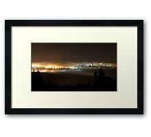 sea of clouds Framed Print
