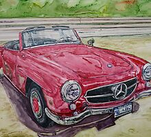 1962 Mercedes Benz 190SL by BAR-ART