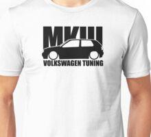 VW Tuning Golf Mk3 Unisex T-Shirt
