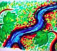 The River by Natasha  Ashwe