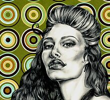 Woman in Grey 1 by Danielle Y. Bernard