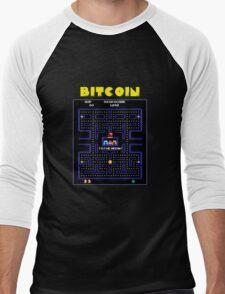 Pac-Man Bitcoin Men's Baseball ¾ T-Shirt